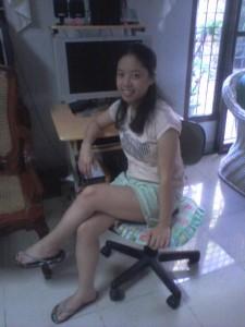Diwata a Pilipino Girl in Manila
