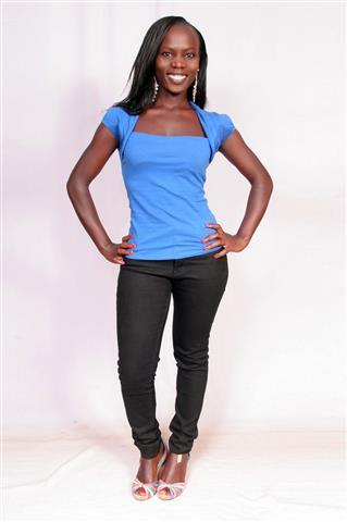 Mumbi a Kenyan Girl (Small)